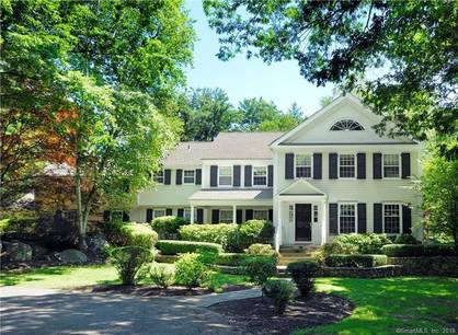 Single Family Home Sold in Wilton CT 06897. Colonial house near waterfront with 2 car garage.