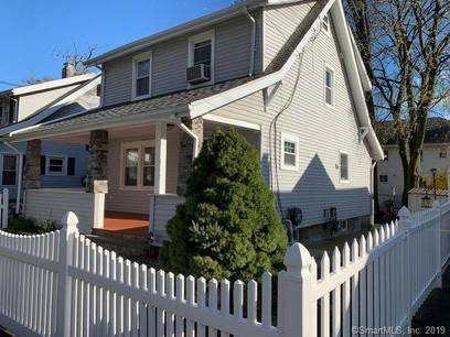 Single Family Home Sold in Stamford CT 06902. Old colonial house near waterfront.