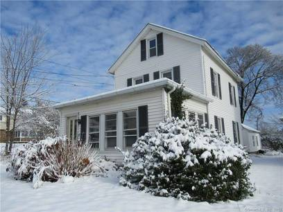 Single Family Home Sold in Danbury CT 06811. Old colonial house near waterfront with 3 car garage.