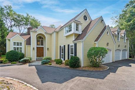 Single Family Home Sold in Ridgefield CT 06877. Contemporary, colonial house near waterfront with 3 car garage.
