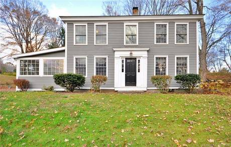 Single Family Home For Sale in Newtown CT 06482. Old colonial, antique house near waterfront.
