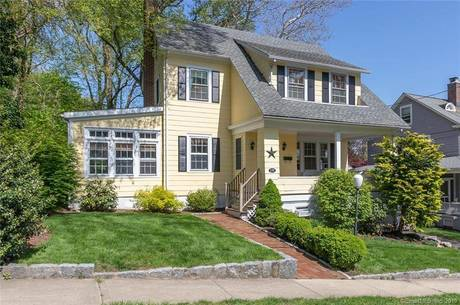 Single Family Home Sold in Fairfield CT 06825. Old colonial house near beach side waterfront with 2 car garage.