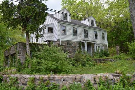 Single Family Home For Sale in Bethel CT 06801. Old colonial, antique house near lake side waterfront with 2 car garage.