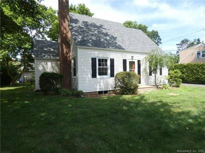Single Family Home Sold in Bridgeport CT 06606.  cape cod house near beach side waterfront with 2 car garage.