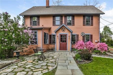 Single Family Home Sold in Brookfield CT 06804. Old antique house near waterfront with swimming pool and 2 car garage.