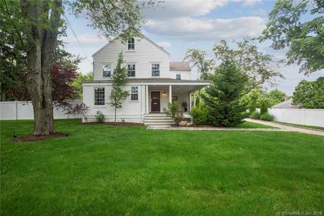 Single Family Home Sold in Stamford CT 06907. Old colonial farm house near waterfront with 2 car garage.