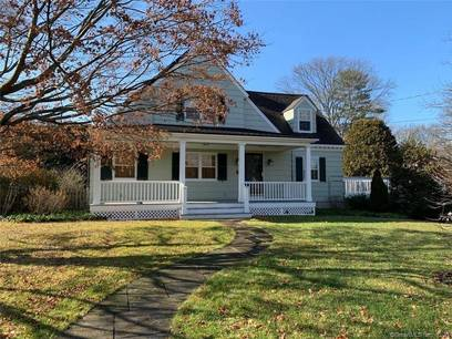 Single Family Home For Rent in Greenwich CT 06831. Old  cape cod house near waterfront with 2 car garage.