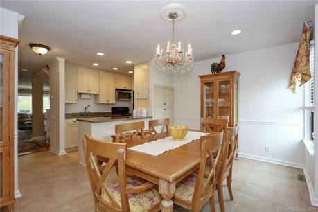 Condo Home Sold in Ridgefield CT 06877.  townhouse near waterfront with swimming pool and 1 car garage.