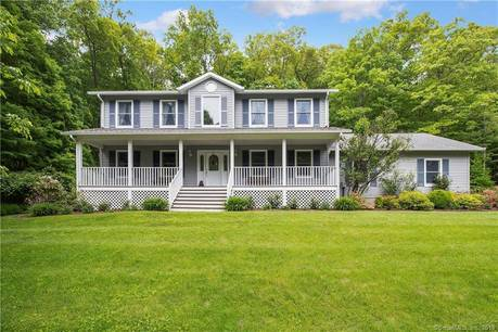 Single Family Home Sold in Sherman CT 06784. Colonial farm house near waterfront with 2 car garage.