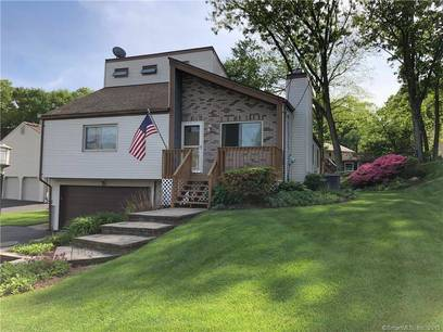Single Family Home Sold in Shelton CT 06484. Contemporary house near waterfront with swimming pool and 2 car garage.