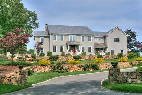 Mansion Sold in Westport CT 06880. Big colonial house near beach side waterfront with 3 car garage.