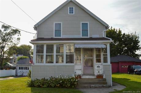 Single Family Home Sold in Stratford CT 06615. Old colonial house near beach side waterfront with 2 car garage.