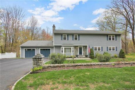 Single Family Home Sold in Monroe CT 06468. Colonial house near lake side waterfront with 2 car garage.