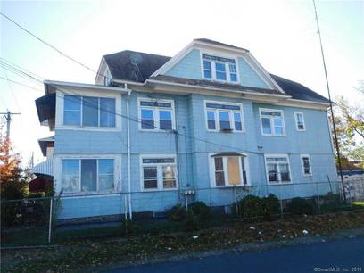 Multi Family Home Sold in Bridgeport CT 06608. Old  house near beach side waterfront with 1 car garage.
