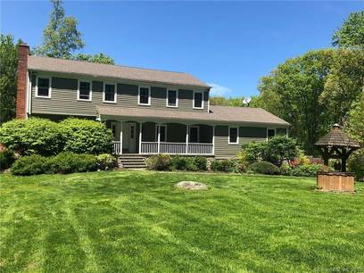 Single Family Home Sold in Newtown CT 06470. Colonial house near waterfront with swimming pool and 2 car garage.