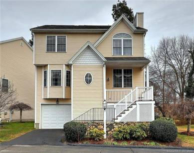 Condo Home For Sale in Stratford CT 06614.  townhouse near beach side waterfront with 1 car garage.