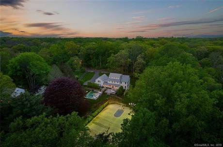 Single Family Home Sold in Weston CT 06883. Contemporary farm house near beach side waterfront with swimming pool and 3 car garage.