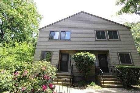 Condo Home Sold in Stratford CT 06614.  townhouse near waterfront with swimming pool and 1 car garage.