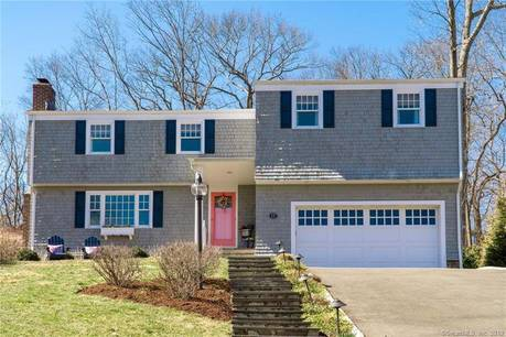 Single Family Home Sold in Norwalk CT 06853. Colonial house near beach side waterfront with 2 car garage.