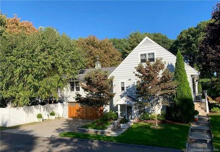 Single Family Home Sold in Norwalk CT 06853.  cape cod house near waterfront with 2 car garage.