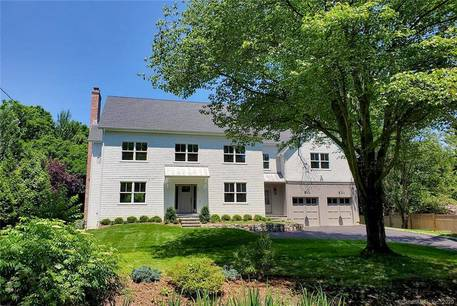 Single Family Home Sold in Westport CT 06880. Colonial farm house near beach side waterfront with 2 car garage.