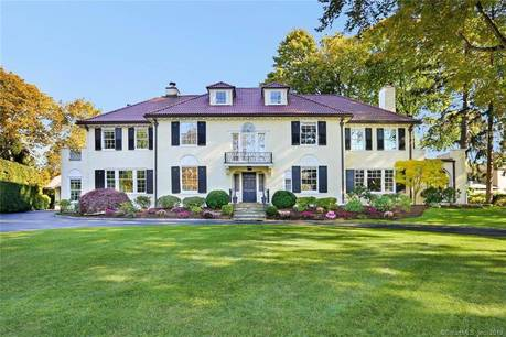 Luxury Mansion Sold in Stamford CT 06902. Old colonial house near waterfront with 2 car garage.