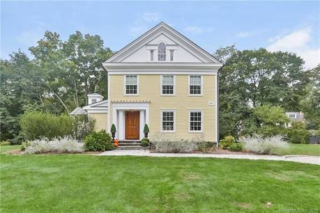 Single Family Home Sold in Westport CT 06880. Old colonial, antique house near beach side waterfront.