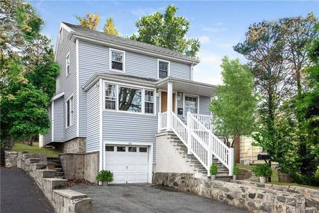 Single Family Home Sold in Stamford CT 06907. Old colonial house near beach side waterfront with 1 car garage.