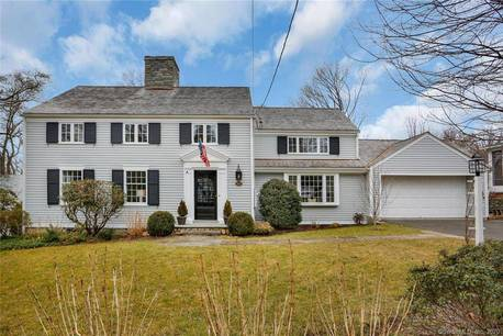 Single Family Home Sold in Fairfield CT 06825. Colonial house near river side waterfront with 2 car garage.