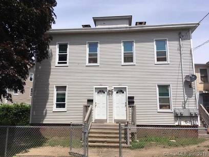 Multi Family Home Sold in Bridgeport CT 06604. Old  house near waterfront with 4 car garage.