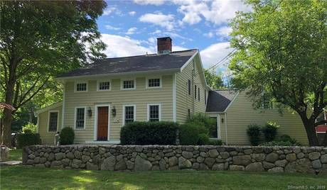 Single Family Home Sold in Wilton CT 06897. Old colonial, antique house near waterfront with 2 car garage.