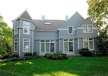 Condo Home Sold in Greenwich CT 06830.  townhouse near waterfront with 2 car garage.