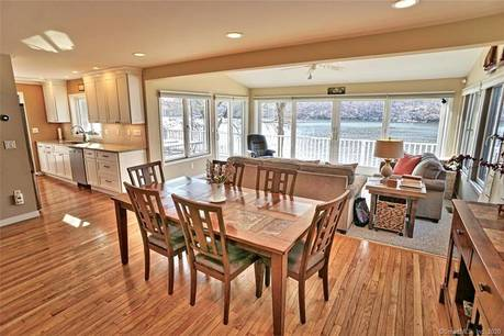 Single Family Home Sold in Danbury CT 06811.  cape cod house near lake side waterfront.