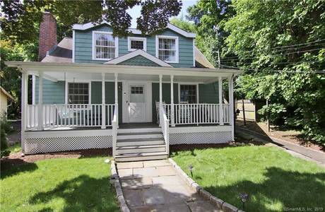 Single Family Home Sold in Stamford CT 06906. Old  cape cod house near beach side waterfront with 2 car garage.