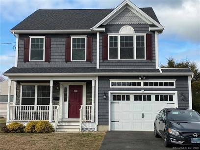 Single Family Home Sold in Stratford CT 06615. Colonial house near beach side waterfront with 1 car garage.