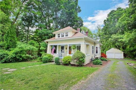 Single Family Home Sold in Trumbull CT 06611. Old colonial, antique house near waterfront with 2 car garage.