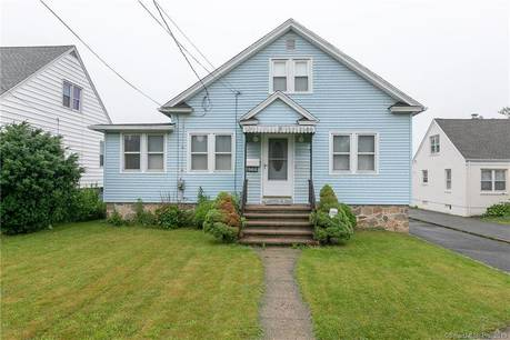Single Family Home Sold in Bridgeport CT 06606. Old  cape cod house near waterfront with 1 car garage.