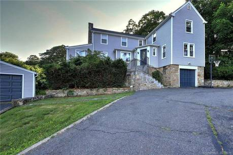 Single Family Home Sold in Trumbull CT 06611. Old colonial house near waterfront with 3 car garage.