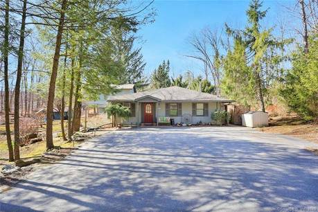 Single Family Home Sold in Sherman CT 06784. Ranch house near lake side waterfront.