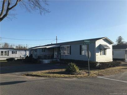 Single Family Home Sold in Danbury CT 06810.  mobile-home house near waterfront with swimming pool.