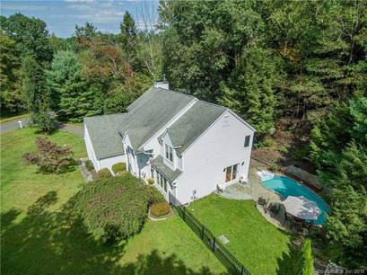 Single Family Home Sold in Newtown CT 06482. Colonial house near waterfront with swimming pool and 2 car garage.