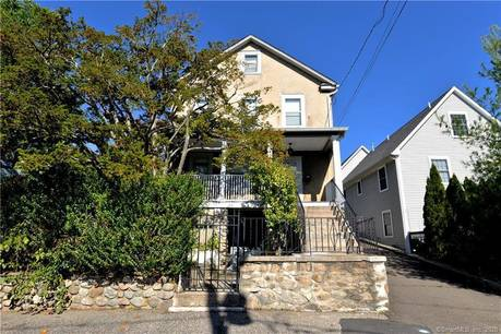 Single Family Home Sold in Stamford CT 06907. Old  house near beach side waterfront with 2 car garage.