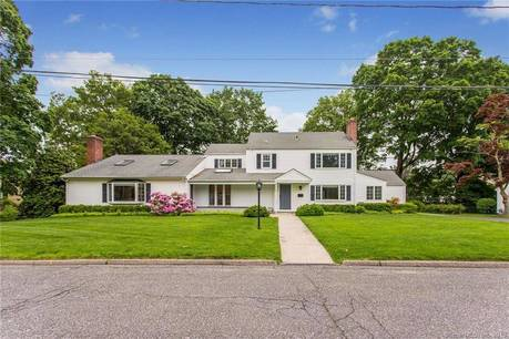 Single Family Home Sold in Stamford CT 06906. Contemporary, colonial house near waterfront with 2 car garage.
