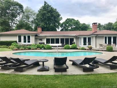 Single Family Home Sold in Norwalk CT 06855. Ranch house near waterfront with swimming pool and 3 car garage.