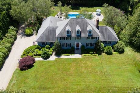 Single Family Home Sold in Stratford CT 06614. Colonial house near waterfront with swimming pool and 4 car garage.