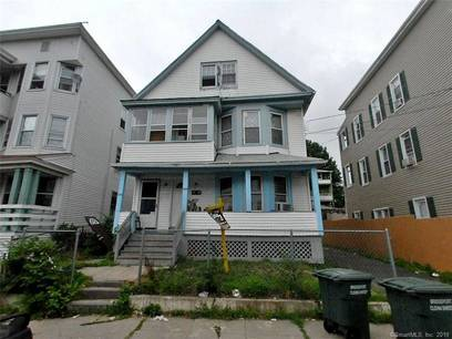 Multi Family Home Sold in Bridgeport CT 06610. Old  house near waterfront.