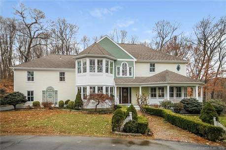 Single Family Home Sold in Redding CT 06896. Victorian, colonial house near waterfront with swimming pool and 2 car garage.