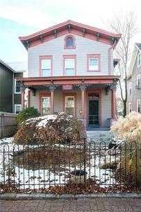 Single Family Home Sold in Norwalk CT 06854. Old victorian house near beach side waterfront.