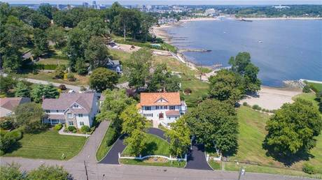 Single Family Home Sold in Stamford CT 06902. Old mediterranean, colonial house near waterfront with 2 car garage.