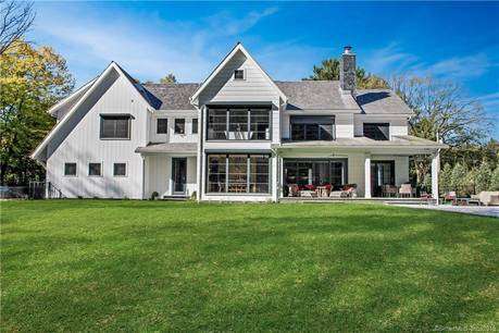 Luxury Single Family Home Sold in Westport CT 06880. Contemporary farm house near waterfront with swimming pool and 3 car garage.